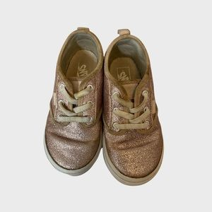 🌵3/35$ - Vans pink glittery shoes